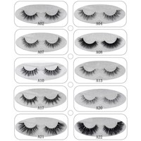Focallure Mink Lashes 3D Mink False Eyelashes Long Lasting Lashes Natural Lightweight Mink Eyelashes 1pair Glitter Packaging New
