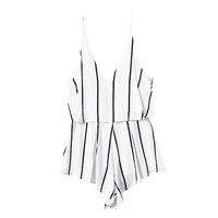 LINES STRAP PLAYSUIT (2 colors