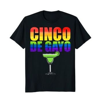 Cinco De Gayo Rainbow Shirt Gay Cinco De Mayo LGBTQ