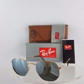Kalete Brand New Authentic Ray Ban RB 3548 Sunglasses 001/30 Mirrored 51mm RB3548