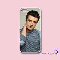 iPhone 4  case, iphone 5 Case --Josh hutcherson--The Hunger Games , in durable black or white plastic or silicone