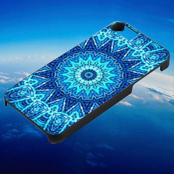 blue mandala for iPhone 4/4s/5/5s/5c/6/6 Plus Case, Samsung Galaxy S3/S4/S5/Note 3/4 Case, iPod 4/5 Case, HtC One M7 M8 and Nexus Case ***