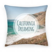 California Dreaming Pillow