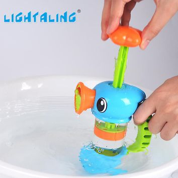 Bath Toy Baby Shower Water cup Submarine Station Operated Lightaling