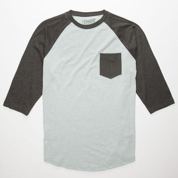 Retrofit End On End Mens Baseball Tee Sage  In Sizes
