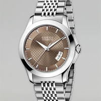 Gucci Diamante Auto Watch & Bracelet Strap