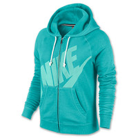 Women's Nike Rally Logo Full-Zip Hoodie