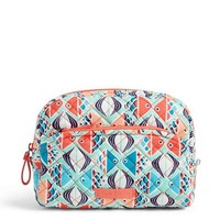 Vera Bradley Iconic Medium Cosmetic Go Fish