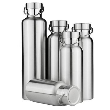 Stainless Steel Vacuum Flasks  Insulated Water Bottles. Coffee Drink Bottle. Travel Outdoor suitable for Camping Hiking Cycling Kettle