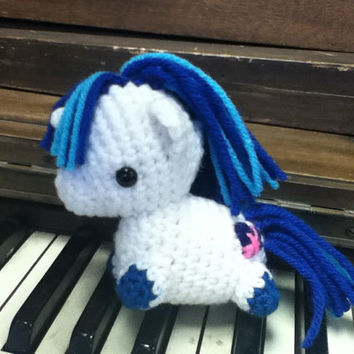 Shining Armour My Little Pony crocheted amigurumi plush