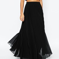 ASOS Pleated Maxi Skirt at asos.com