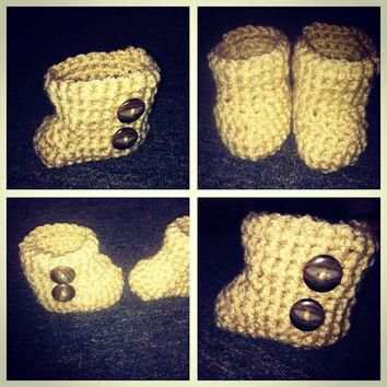 Baby UGG lookalikes by APerfectKnot on Etsy
