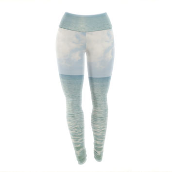 "Catherine McDonald ""Cloud Reflection"" Yoga Leggings"