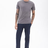 Micro-Dotted Chinos