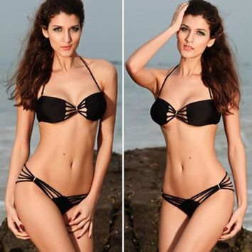 2pc Fringe Designer Bikini Model
