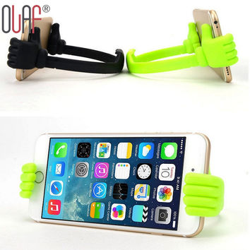 Multifun Lazy Mobile Phone Holder Bed Thumb Cell Smartphone Tablet Accessory Mount Stand Support Desk Desktop Table For iphone