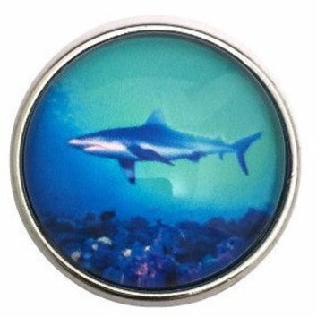 Shark Snap 20mm for Snap Charm Jewelry (3111)