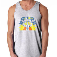 Sun Gym Gang Pain & Gain pain and gain Men Tank top