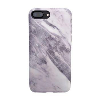 Marble Case for iPhone 8 Plus / 7 Plus - Shadow