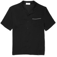 AMI - Camp-Collar Voile Shirt
