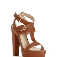 Sale-brown Summer Nights Heels