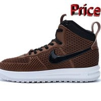 2018 Shop Nike Lunar Force 1 Duckboot 806402 100 Red High Top 2016 Wint shoes