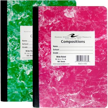 Roaring Springs Composition Notebook - CASE OF 48