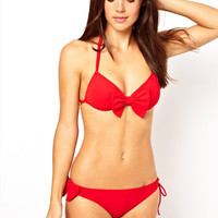 Mouille Bow Bikini at ASOS
