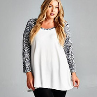 The Cats Meow Plus Size Maternity Top