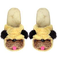 PUG LIFE SLIPPERS - One