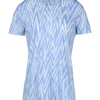 Proenza Schouler Graphic T-Shirt - Short Sleeve Shirt - ShopBAZAAR
