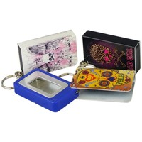 Portable Ashtrays on Key Rings for Your Pocket or Purse