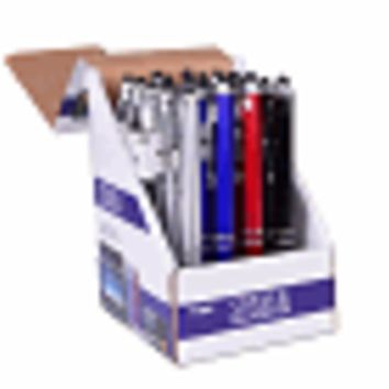 (20-Pack) Vibe 2-in-1 Stylus & Ballpoint Pen for Capacitive Touchscreen Devices (4 Colors) in Point of Sale Display Box
