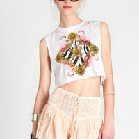 Flamingo Spring Muscle Tank By MINKPINK - $38.00 : ThreadSence, Women's Indie & Bohemian Clothing, Dresses, & Accessories