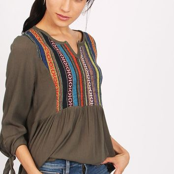 Wayfarer Embroidered Tunic | Ruche