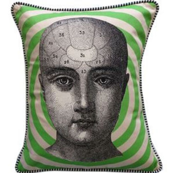 Phrenology Pillow