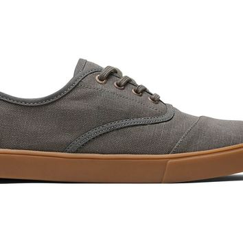 TOMS - Venice Collection Dusty Olive Men's Cupsole Cordones Sneakers