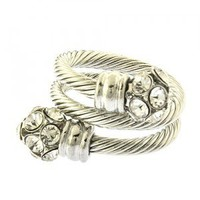 DOUBLE CABLE CHAIN RING