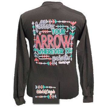 Girlie Originals Follow Your Arrow Bright Long Sleeves T Shirt