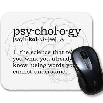 Psychology Definition Mouse Pad
