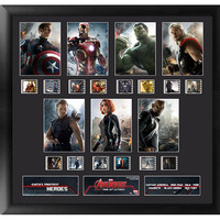 Avengers Age Of Ultron Character Montage Framed Film Cell