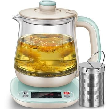 0.8L Hot Tea Makers Timing High Quality Electric Kettle Reservation Heat Preservation Electric Kettle Flower Teapot