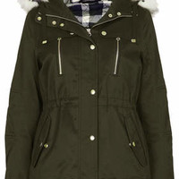 SHORT PADDED PARKA JACKET