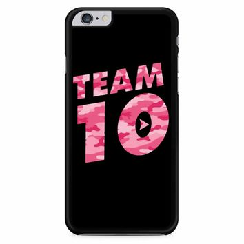 Team 10 Pink Camo Jake Paul iPhone 6 Plus / 6s Plus Case