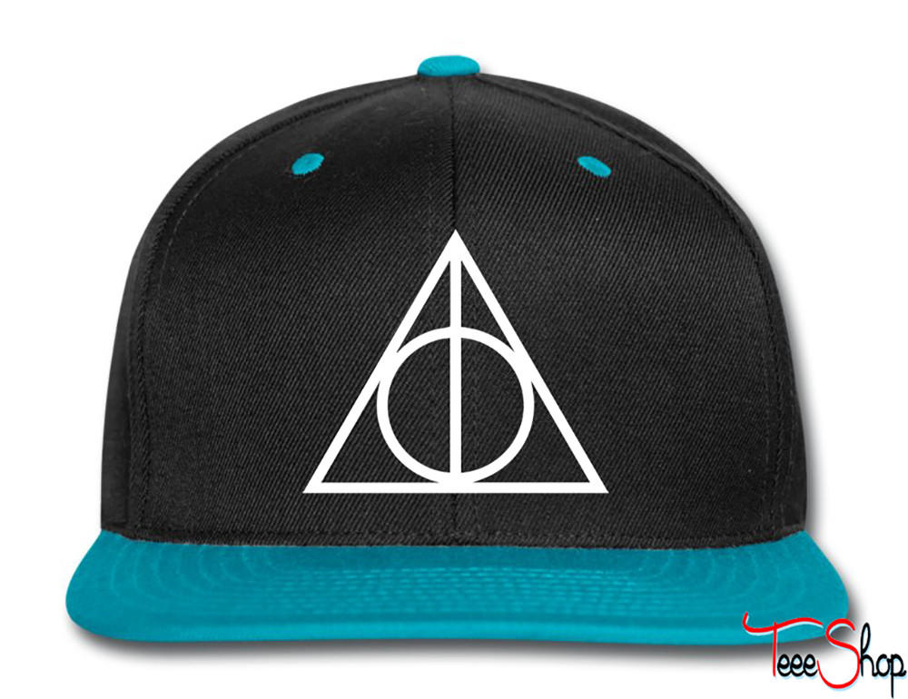 a009c859efe Deathly Hallows Snapback from Teee Shop