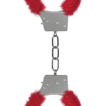 Furry Red Handcuffs