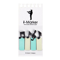 Sticky Notes Memo Sticker - Musician