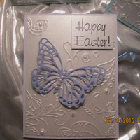 Set of 4 Easter Butterfly Cards