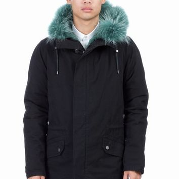 YVES SALOMON FOR OPENING CEREMONY EXCLUSIVE RABBIT FUR PARKA - MEN - OUTERWEAR - YVES SALOMON FOR OPENING CEREMONY