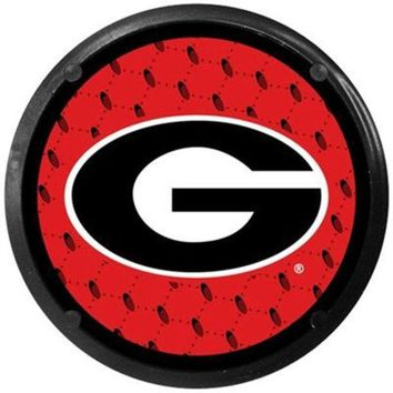 LMFON NCAA Georgia Bulldogs Car Coaster Air Freshener